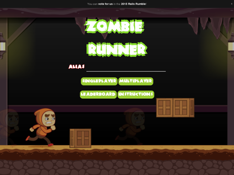 Snapshot of Zombie Runner