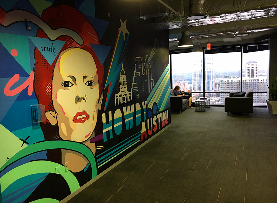 Austin Capital Factory Startup Incubator, Wall Art