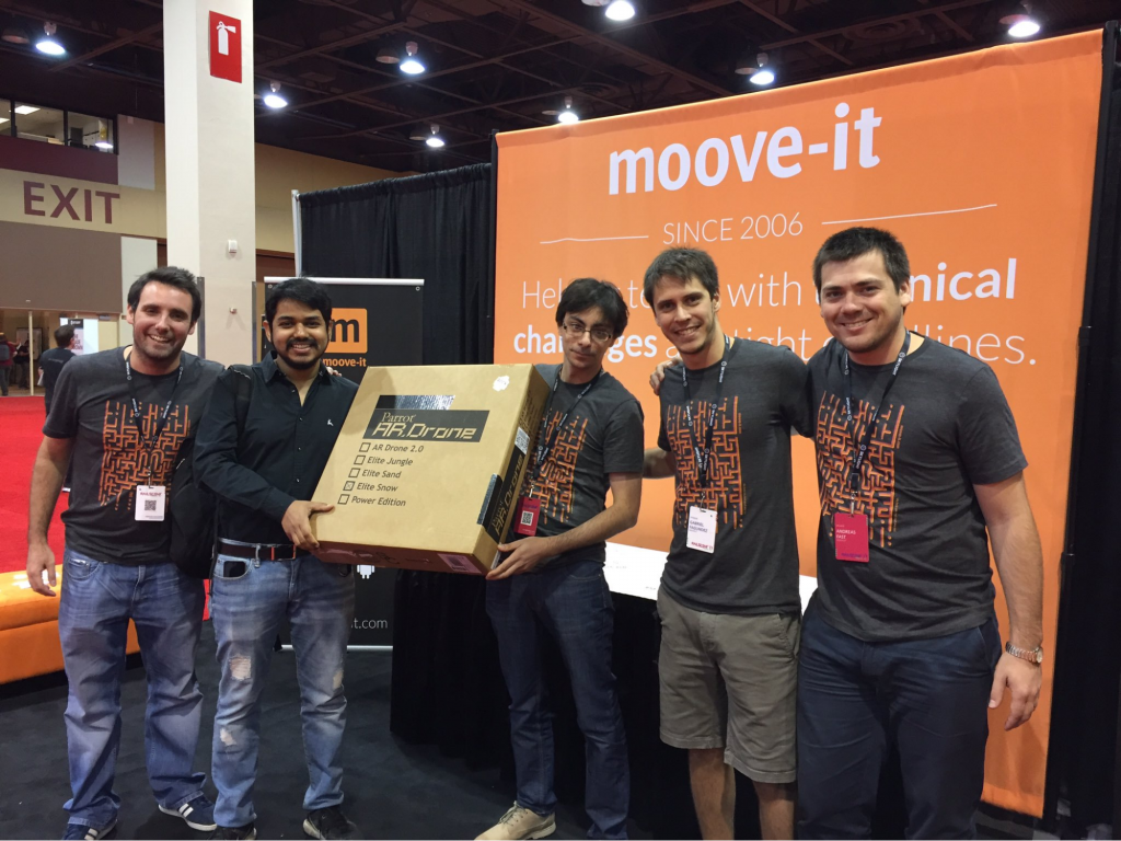Moove-it Rails Conf Prize winner