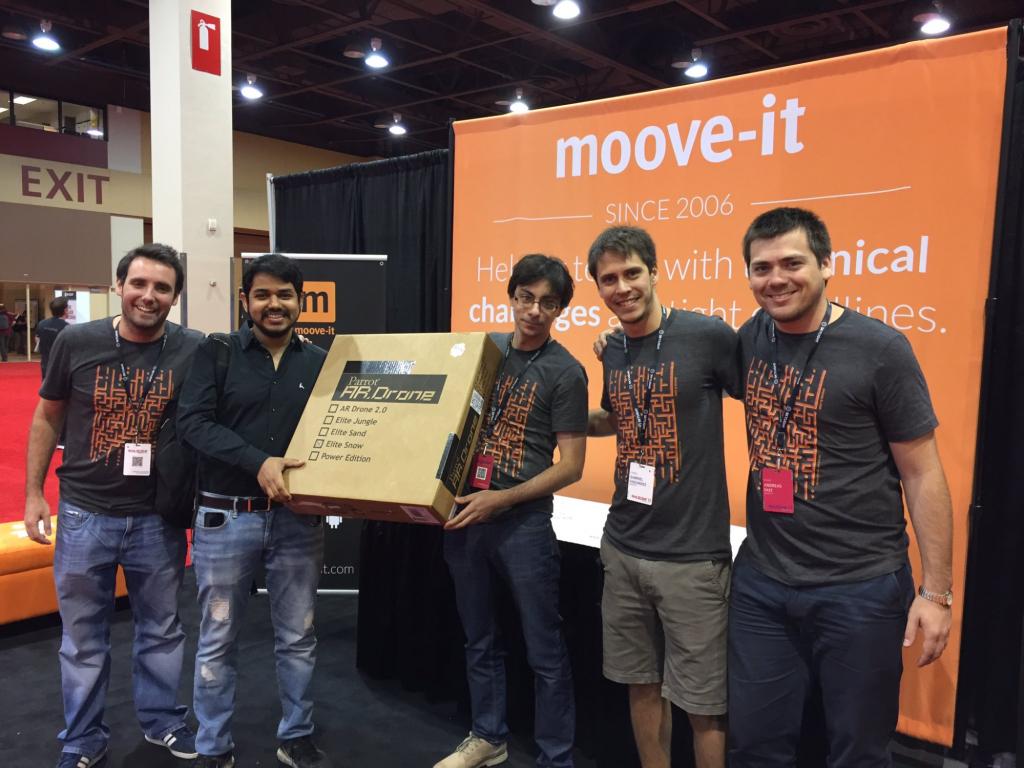Moove-it Rails Conf Prize winner