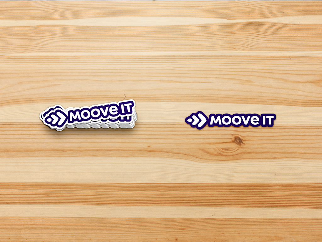 Moove It stickers