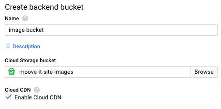 Cloud CDN caches HTTP